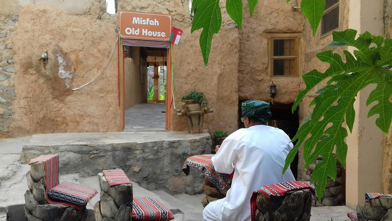 Experience a Omani mountain village life at Misfah Old House | © Misfah Old House