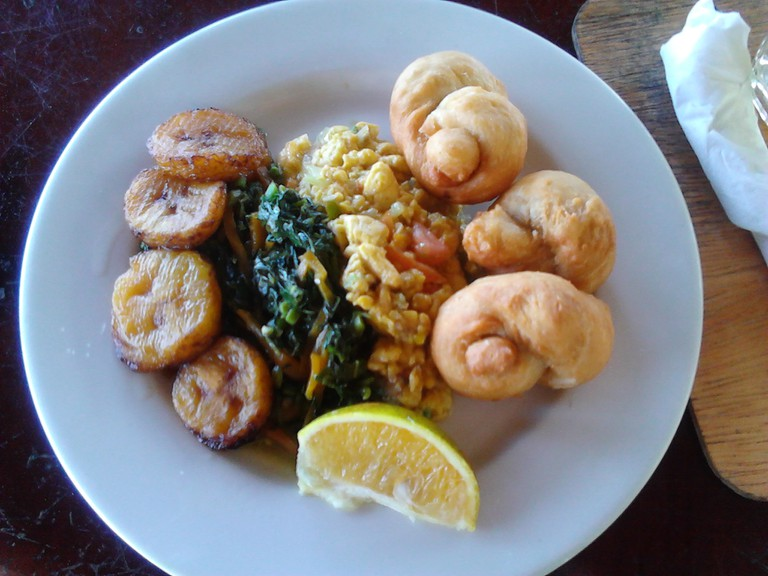 Jamaican Breakfast, Ackee and Saltfish | © Mararie/Flickr