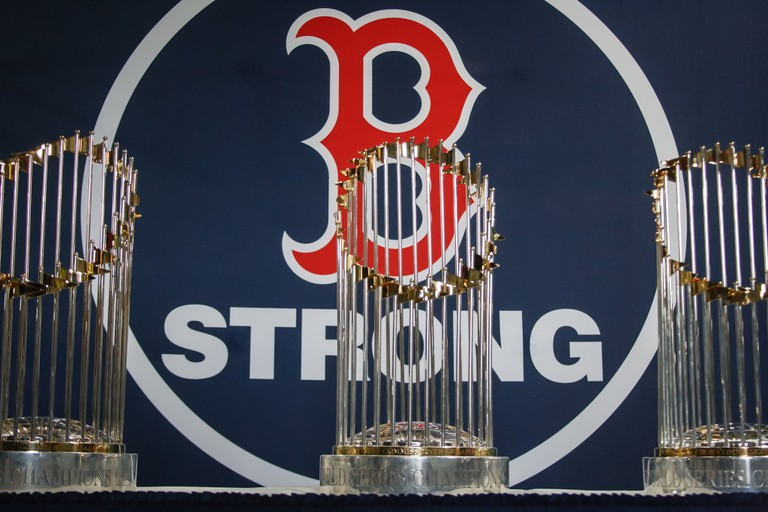 Red Sox World Series Trophies | © Andrew Malone / Flickr