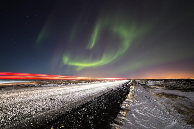 Icelandic aurora  © David Phan / Flickr
