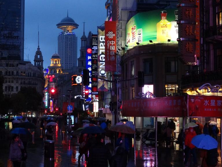 East Nanjing Road Now | ©Brett Hodnett/Flickr
