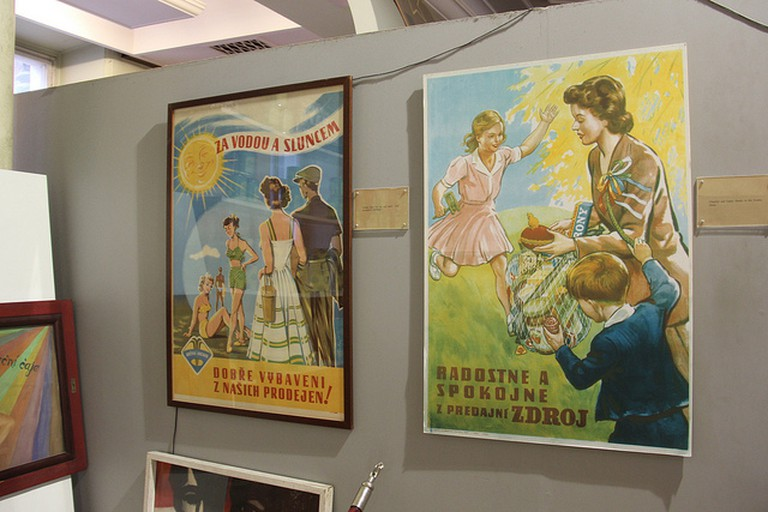 Propaganda posters at the museum / ©Laika ac / Flickr