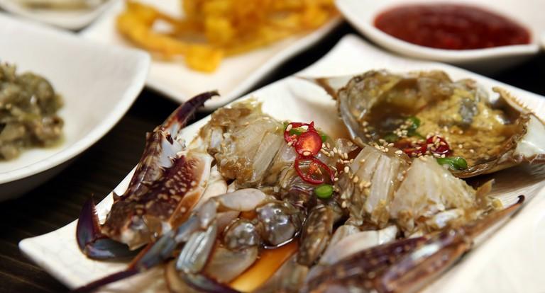 Ganjang gejang, crabs marinated in soy sauce | © Republic of Korea / Flickr