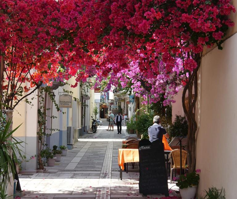 A typical street of Nafplio