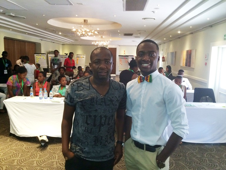 Pumlani Nkontwana, his business mentor, was dedicated to help Djan through his business journey in the last two years │