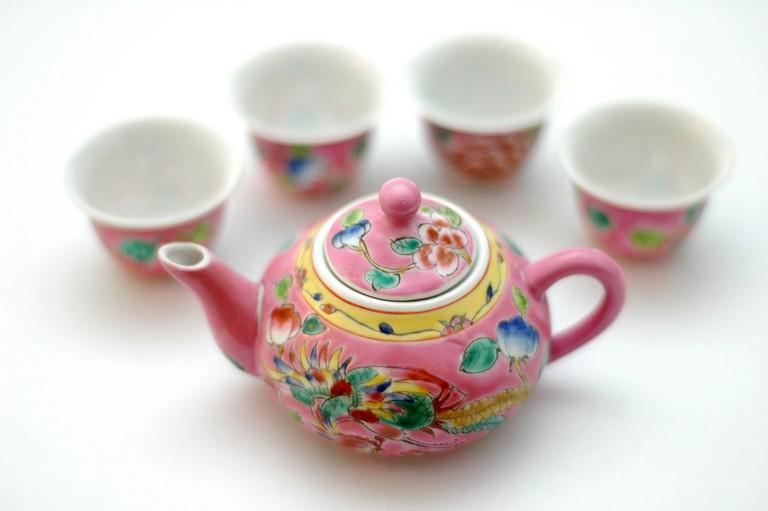 Traditional Peranakan Pottery | © Jpatokal/WikiCommons