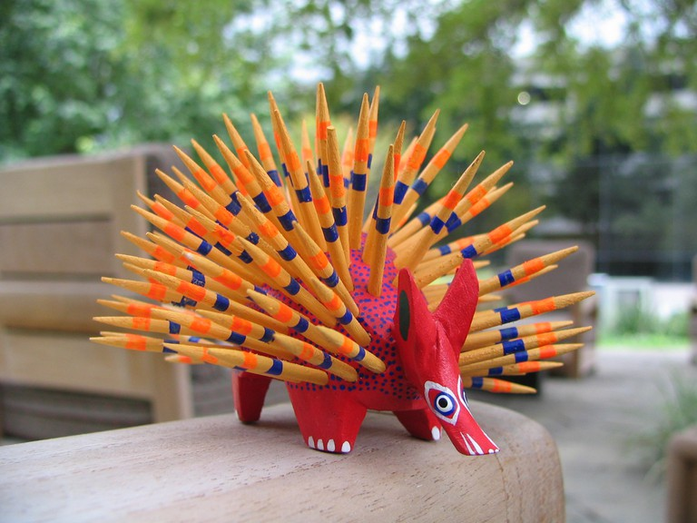 A spiky alebrije | © eperales/Flickr