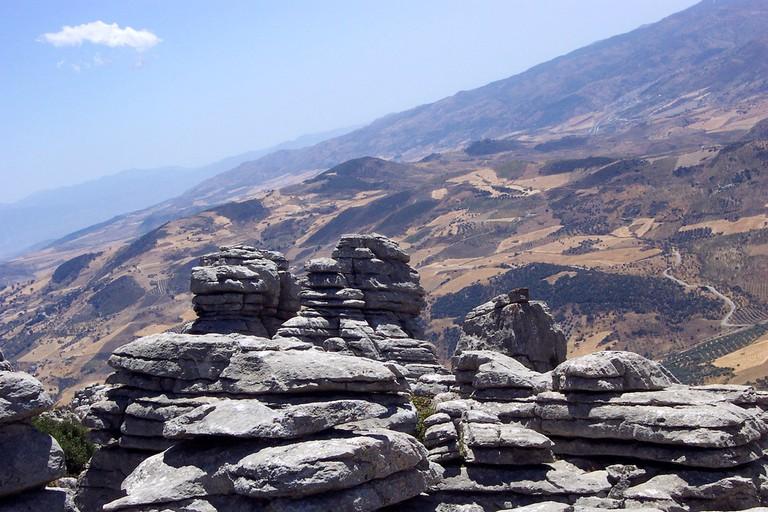 The distinctive karst landscape of El Torcal, near Antequera; Juan de Dios Santander Vela, flickr