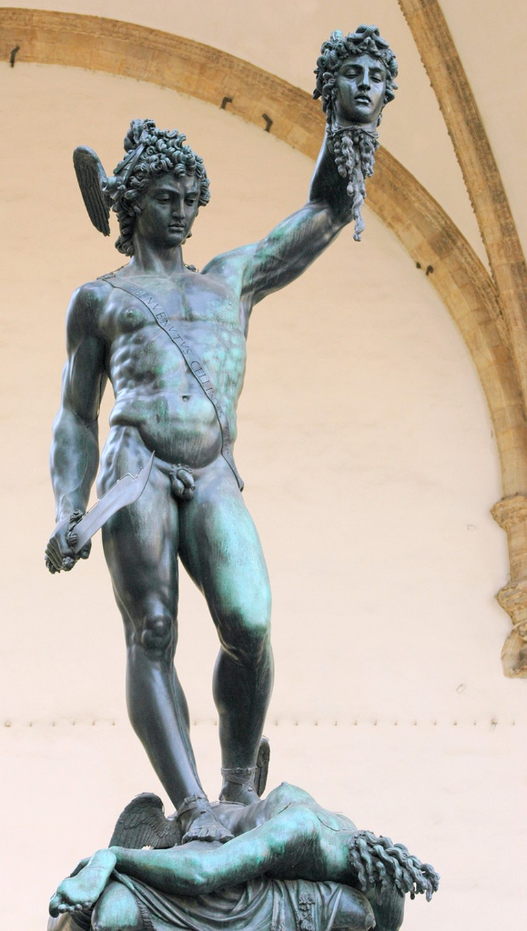 Perseus With the Head of Medusa |