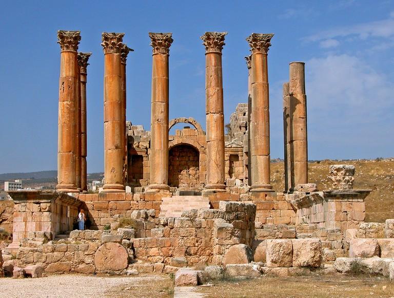Jordan-16A-085 - Temple of Artemis © Dennis Jarvis