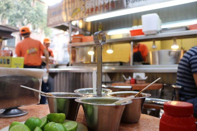 Street food, Mexico City