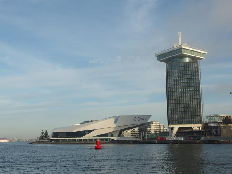 A'DAM Toren next to the EYE Film Institute | © Guilhem Vellut / Flickr