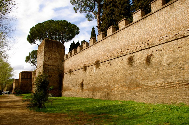 Aurelian walls |©telridge+keldridge/Flickr