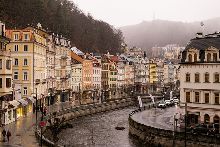 View from the Grand Hotel Pupp in Karlovy Vary / ©Roman Boed / Flickr