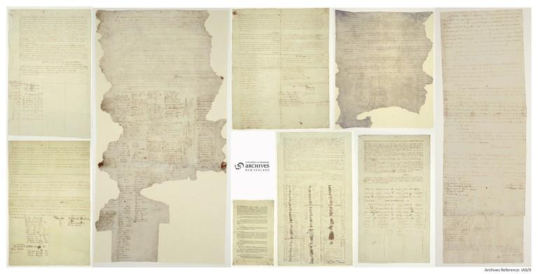 Te Tiriti o Waitangi - The Treaty of Waitangi, 1840 | © Archives New Zealand/Flickr