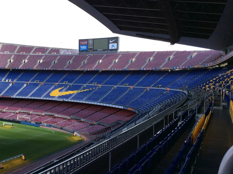 The Camp Nou stadium © Jorge Brazil