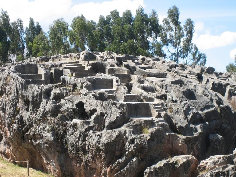 Qenqo amphitheater