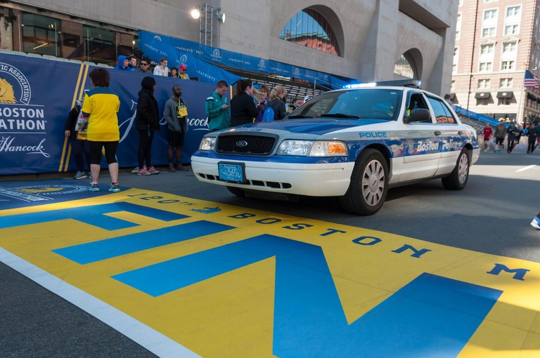 Boston Marathon Finish Line | © Marco Verch / Flickr