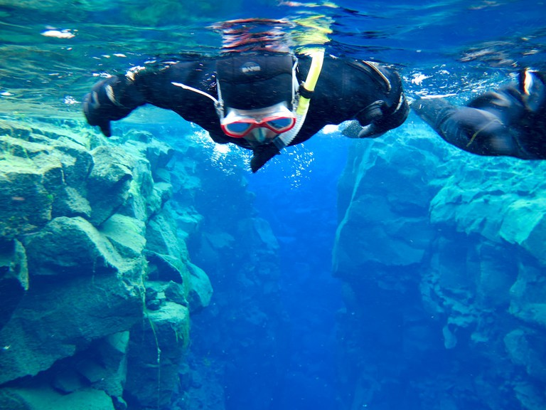 Diving in Silfra| © Shriram Rajagopalan / Flickr