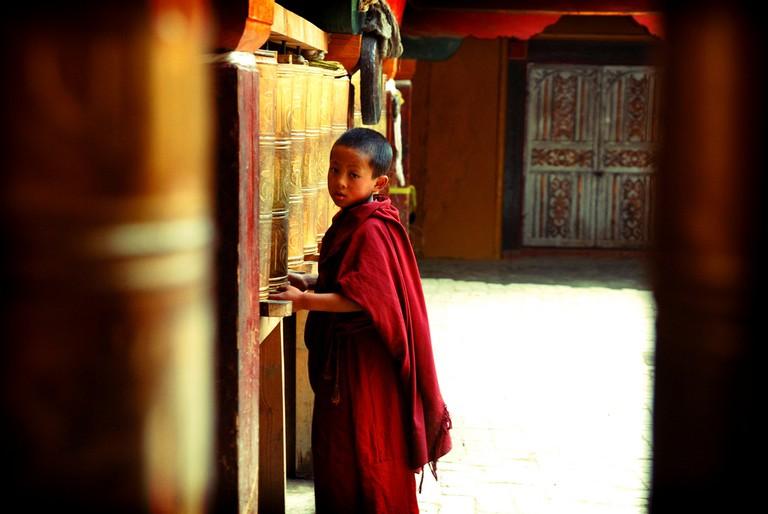 Songzhanlin Temple, Shangri-la (Yunnan )
