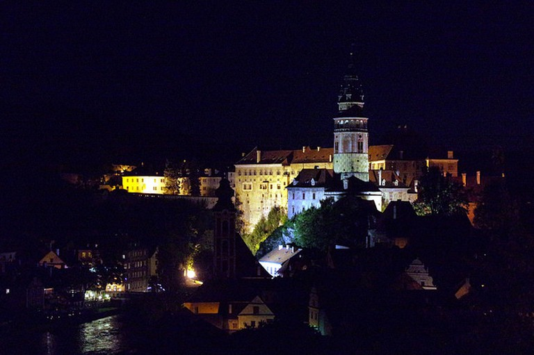 Cesky Krumlov is especially magical at night | ©Donald Judge / Flickr