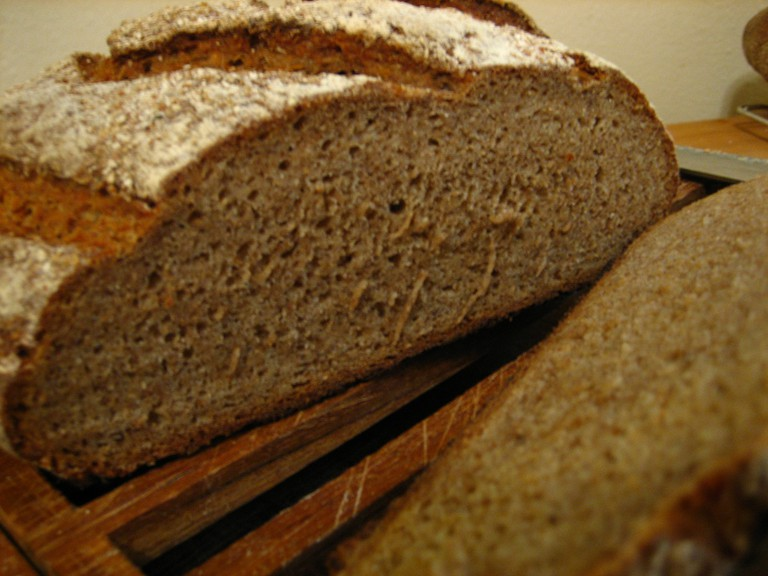 A loaf of German Rye | © crustycrunch / Flickr
