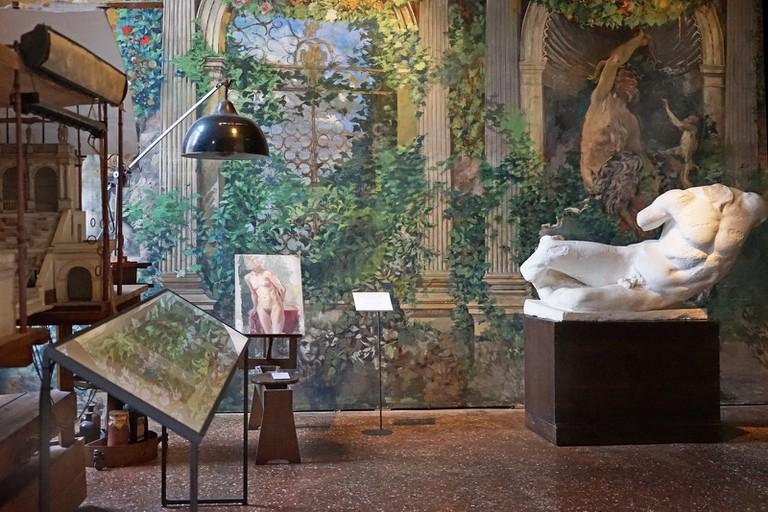 Aspect of the Fortuny Museum, in the artist´s old studio in Venice; Jean-Pierre Dalbera, flickr