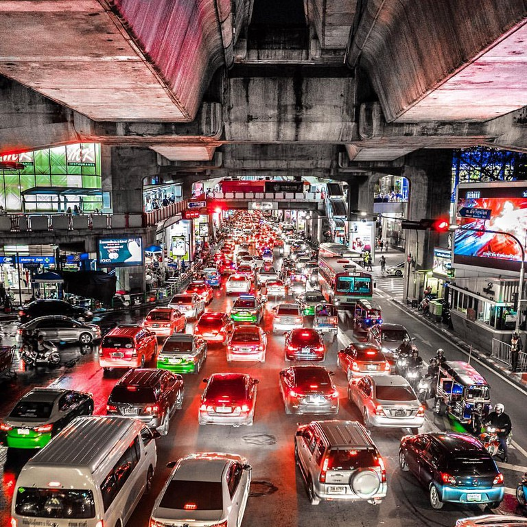 Bangkok Traffic © Mathieu Cordonnier