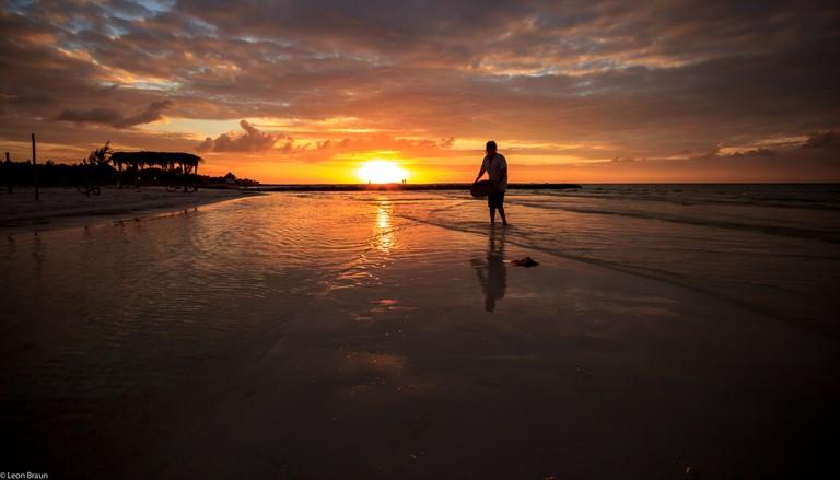 Sunset at Holbox|©LBraun/Flickr