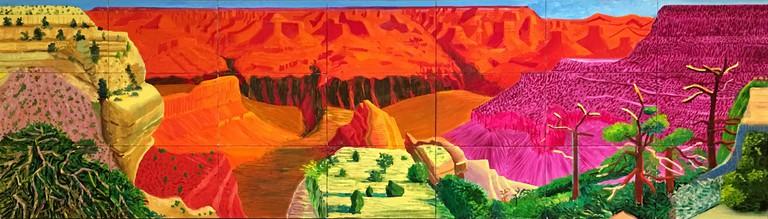David Hockney, The Grand Canyon, 1998 | © Sharon Mollerus/Flickr