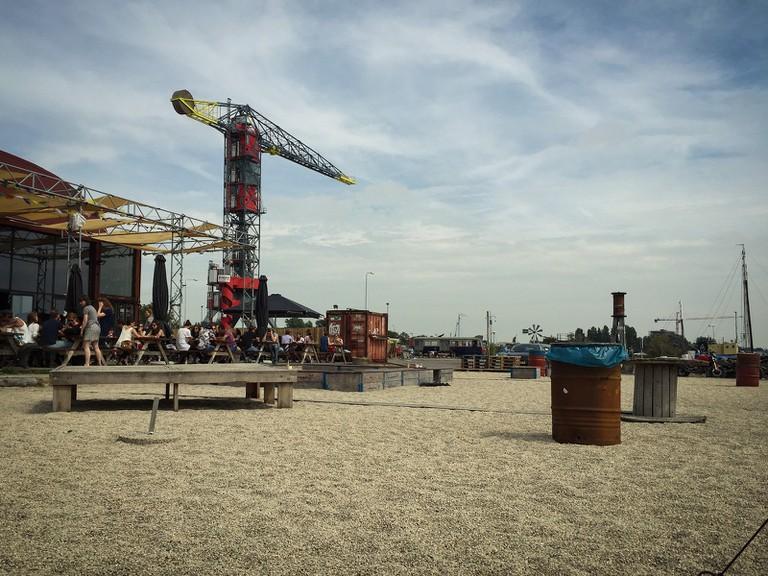 The view from Plekk in Amsterdam-Noord | © Mr. Amsterdam / Flickr