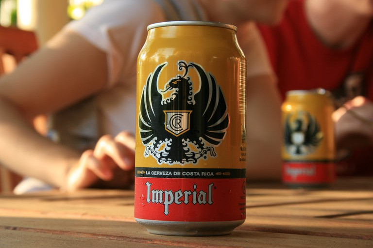Imperial, the official beverage of any Costa Rican vacation