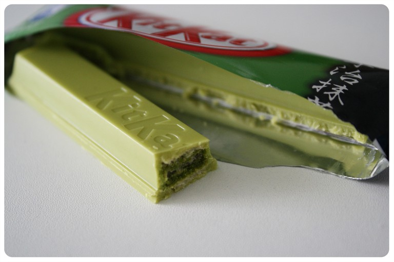 Green tea KitKat | ©Mira Pangkey / Flickr
