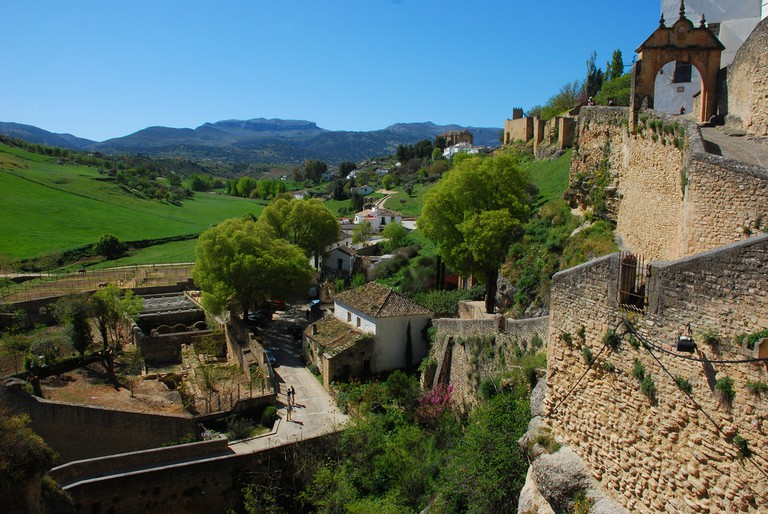 The countryside around Ronda has some beautiful cycle paths; Chris Bastian, flickr
