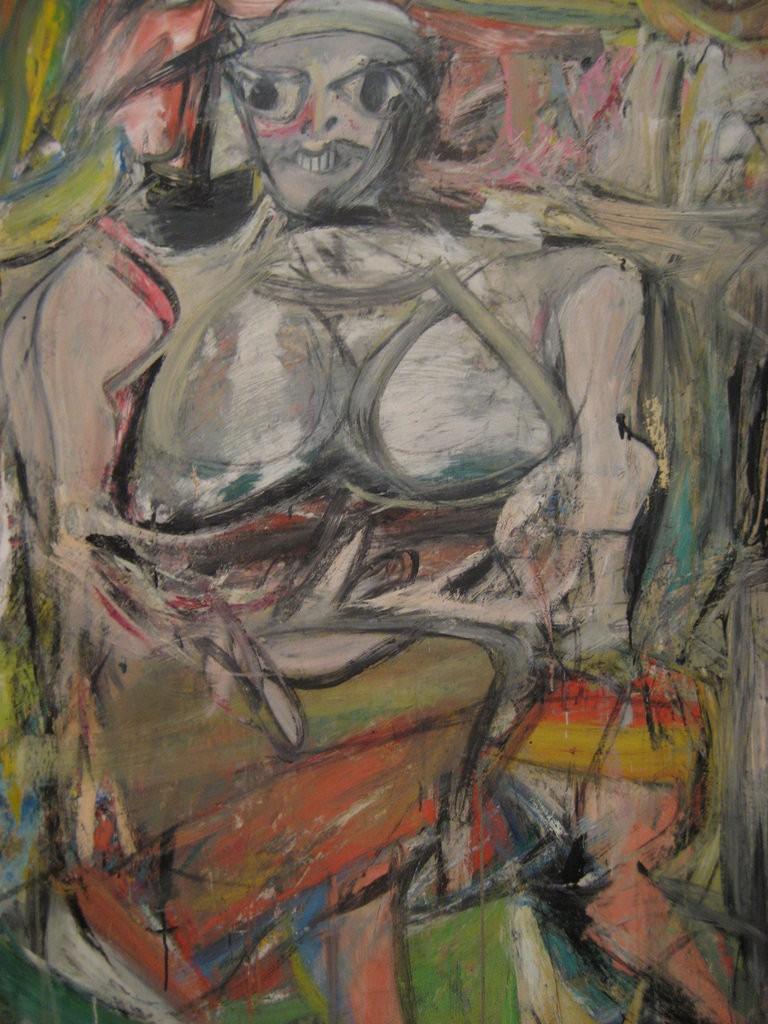 Woman, 1 - Willem de Kooning, MoMA   © missvancamp/Flickr