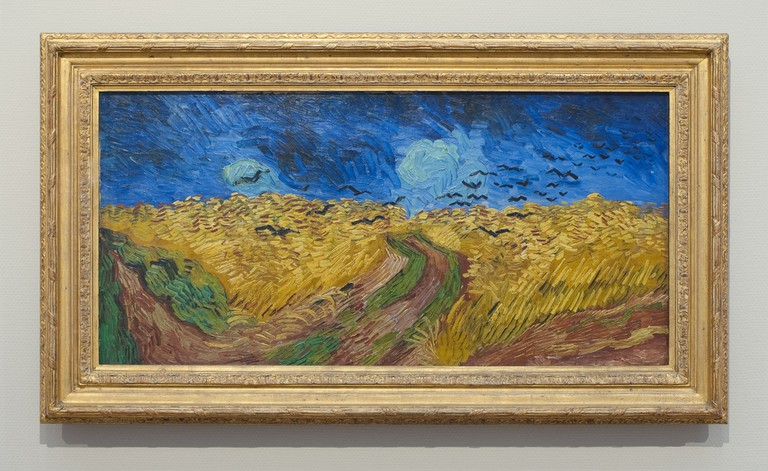 Wheatfield with Crows (1890) by Van Gogh on display at the Museum | ©Niels/Flickr