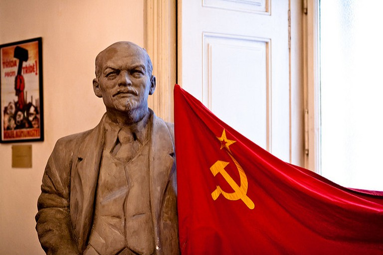 Lenin was never too far away during Communist days