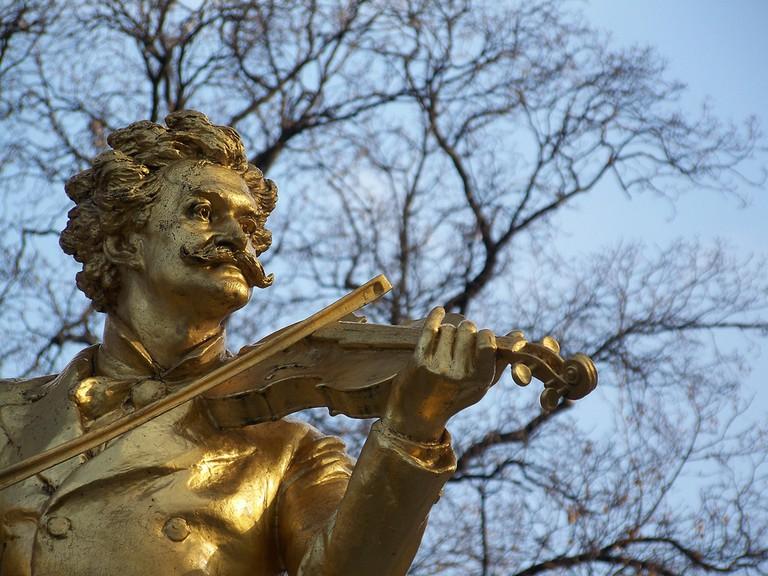 Strauss in Stadtpark up close | © William / Flickr
