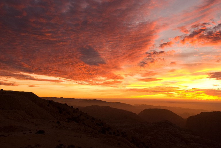 Sunset in Petra © Gabriele Asnaghi