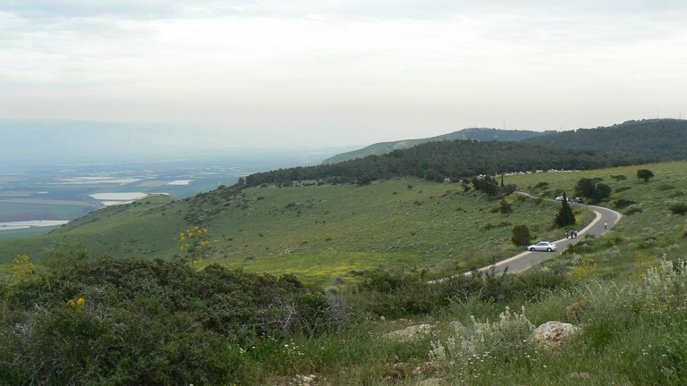 A look towards the Jordan valley © Amir Yalon
