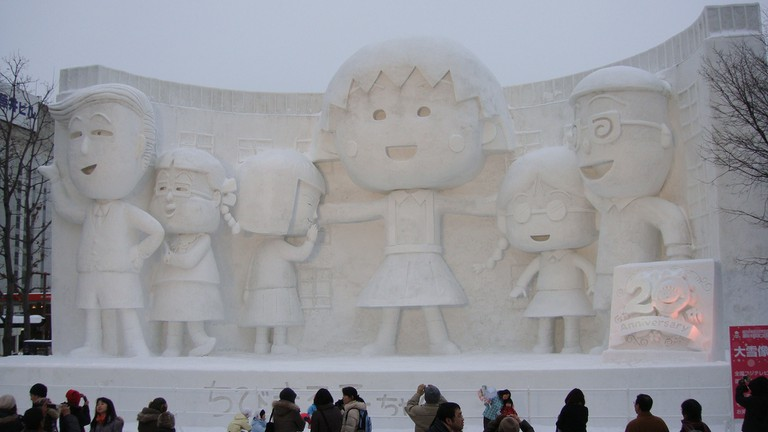 Sapporo Snow Festival | ©David McKelvey / Flickr