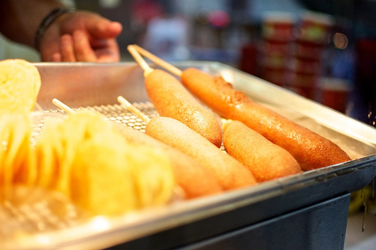 Corndogs in Grapevine © John Tornow