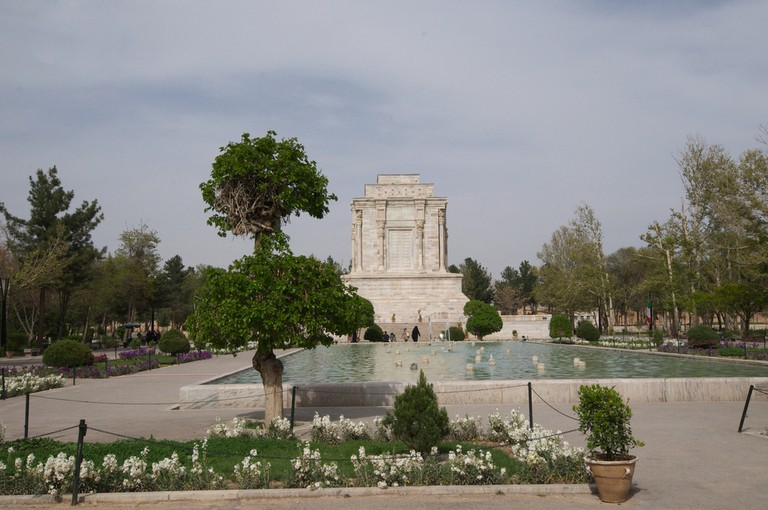 Ferdowsi's mausoleum in Tus depicts scenes from the Shahnameh | © A.Davey / Flickr