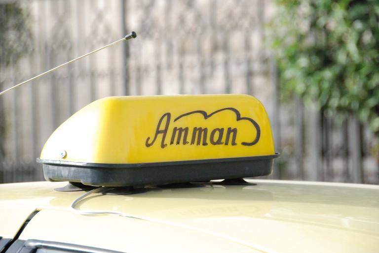 Amman Taxi © Paul Keller