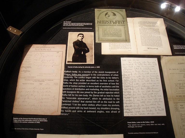 Original Kafka manuscripts and letters / ©Nico Paix / Flickr