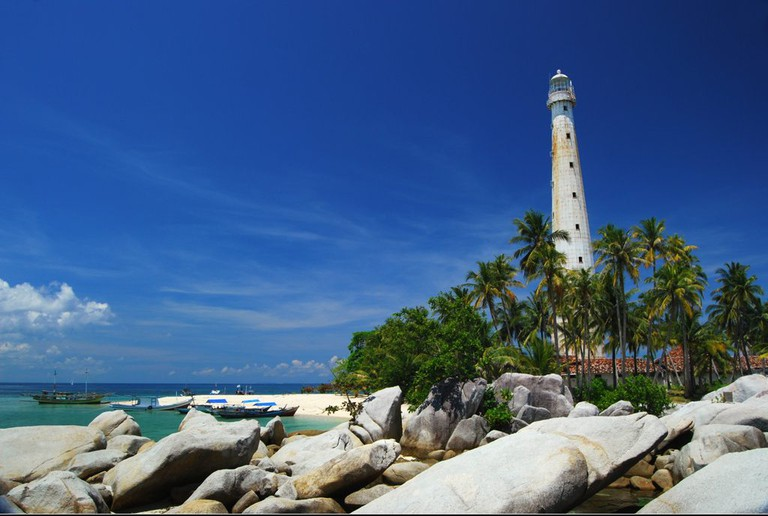 A lighthouse in Belitung | © jeffrey manzini / Flickr