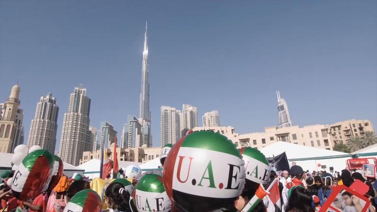 UAE pride on National Day in Dubai |©IKON Productions / Vimeo https://vimeo.com/121607199 http://i.vimeocdn.com/video/510007993_1280x720.jpg