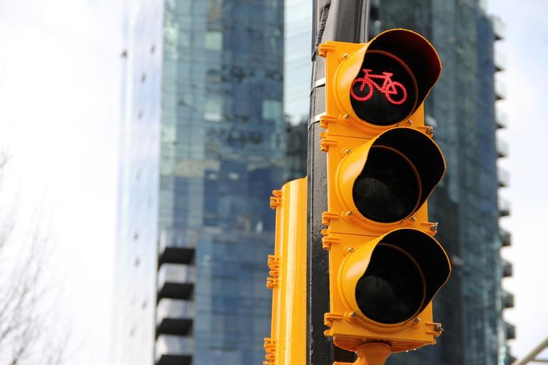 Outside of the Netherlands, bike lanes are notoriously dangerous   ©Paul Krueger/Flikcr