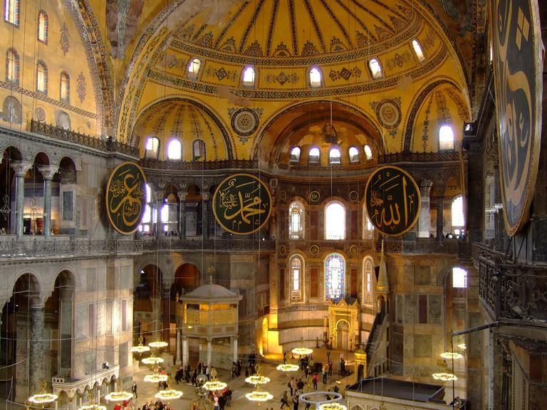 The iconic Hagia Sophia in Istanbul   © Brian Suda/Flickr