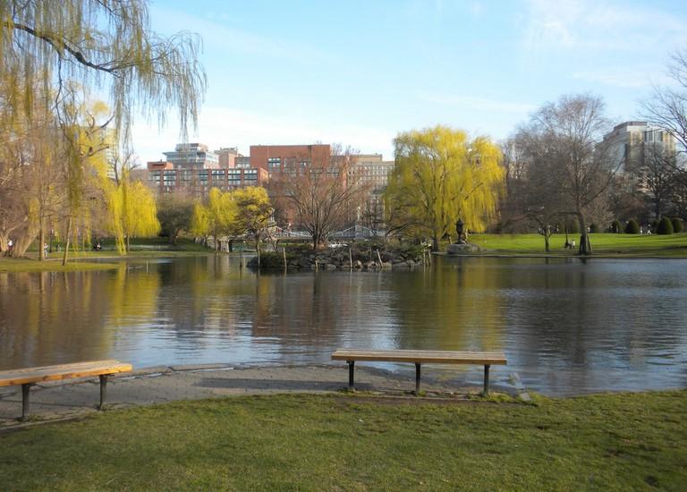 Boston Public Garden   © Lucy Orloski / Flickr